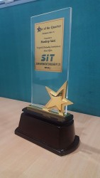 Award for Star of Second Quarter 2016-17